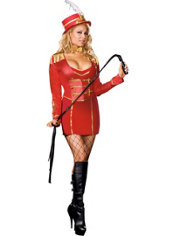 Adult Sexy Ringmaster Costume Plus Size