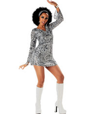 Adult Disco Diva 70's Disco Costume