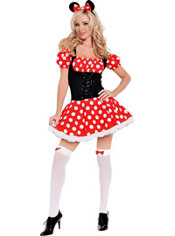 Adult Mickey's Mistress Mouse Costume
