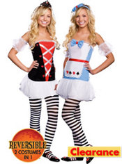 Teen Girls Tea for Two Reversible Costume