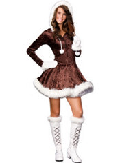 Teen Girls Cutie Pie Eskimo Costume