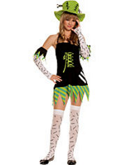 Teen Girls Monster Girl Costume
