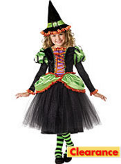 Girls Storybook Witch Costume Elite