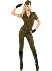 Adult Air Force Angel Military Costume