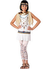 Girls Cleo Bling Cleopatra Costume