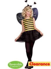 Girls Going Buggy Reversible Costume