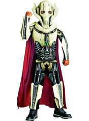 Boys General Grievous Costume Deluxe - Star Wars Clone Wars