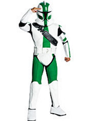 Boys Commander Gree Costume - Star Wars Clone Wars