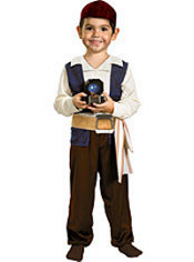 Toddler Boys Captain Jack Sparrow Costume