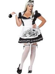 Adult Dark Alice Costume Plus Size