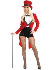 Adult Circus Sweetie Ringmaster Costume