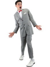 Adult Pee-wee Herman Costume Deluxe
