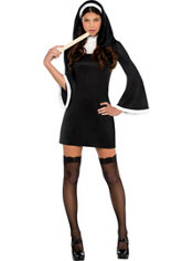 Adult Blessed Babe Nun Costume