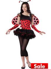 Teen Girls Love Bug Costume