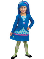 Girls Blueberry Muffin Costume