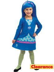 Toddler Girls Blueberry Muffin Costume