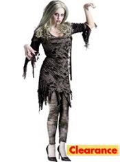 Adult Sexy Zombie Costume
