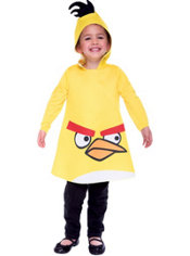 Toddler Yellow Angry Birds Costume