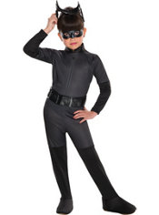Girls Catwoman Costume - The Dark Knight Rises Batman