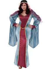 Adult Renaissance Queen Costume Plus Size