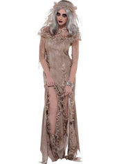 Adult Antique Zombie Bride Costume
