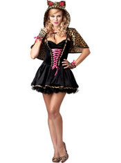 Adult Frisky Kitty Costume Plus Size - Cat