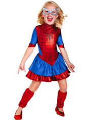 Girls Spider-Girl Costume Deluxe