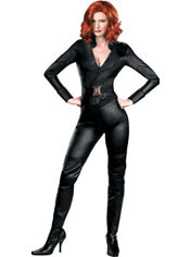 Adult Black Widow Costume Deluxe - The Avengers