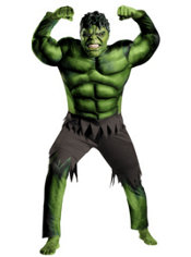 Adult Hulk Costume Plus Size - The Avengers