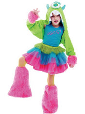 Girls Uggsy Costume Deluxe