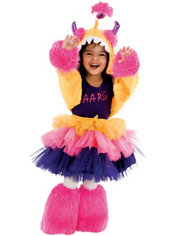 Toddler Girls Aarg Costume Deluxe