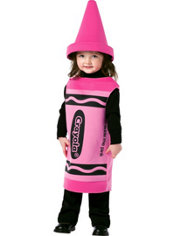 Baby Crayola Tickle Me Pink Costume