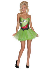 Adult Tutu Kermit the Frog Costume - The Muppets