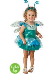 Toddler Girls Light-up the Sky Dragonfly Costume