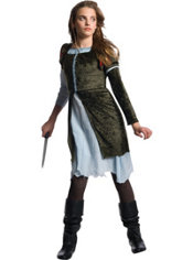 Teen Girls Dark Snow White Costume - Snow White and the Huntsman
