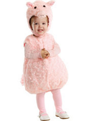 Toddler Plush Belly Piglet Costume