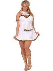 Adult Greek Dress Costume Plus Size