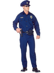Adult Navy Police Costume