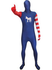 Adult Democrat Morphsuit