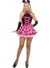 Adult Miss Mouse Cutie Costume