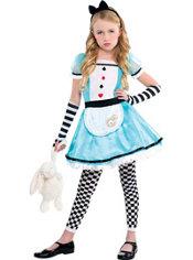 Girls Wonderful Alice Costume