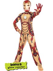 Boys Classic Iron Man Costume - Iron Man 3