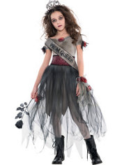 Girls Prom Corpse Costume