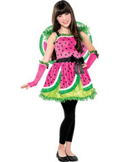 Girls Watermelon Fairy Costume