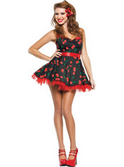 Adult Cherry Pop Costume