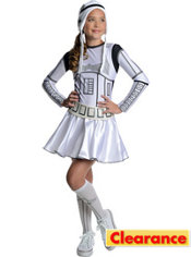 Girls Stormtrooper Deluxe Costume - Star Wars