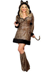 Adult Cheetaluscious Costume Plus Size