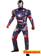 Adult Iron Patriot Costume Deluxe
