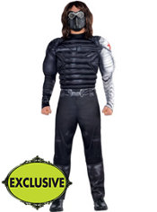 Adult Winter Soldier Muscle Costume - Captain America 2