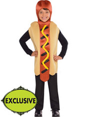 Boys Hot Diggity Hotdog Costume
